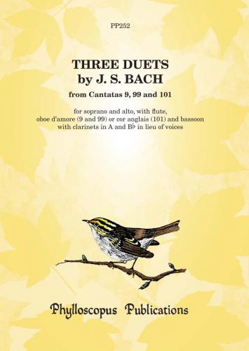Three Duets from Cantatas 9, 99 & 101