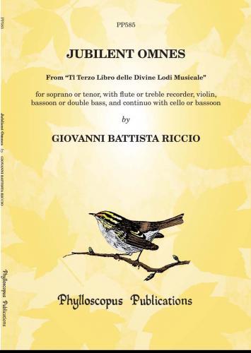 Jubilent Omnes (from Il terzo Libro delle Divine... 1620)