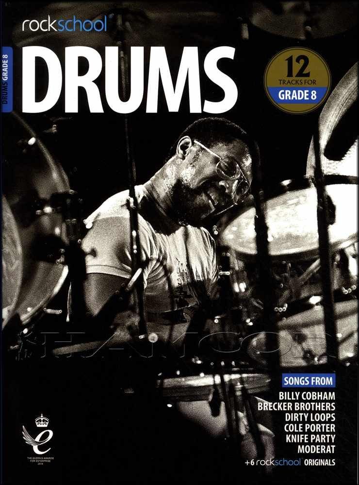 Rockschool: Drums Grade 8 (2018-2024)
