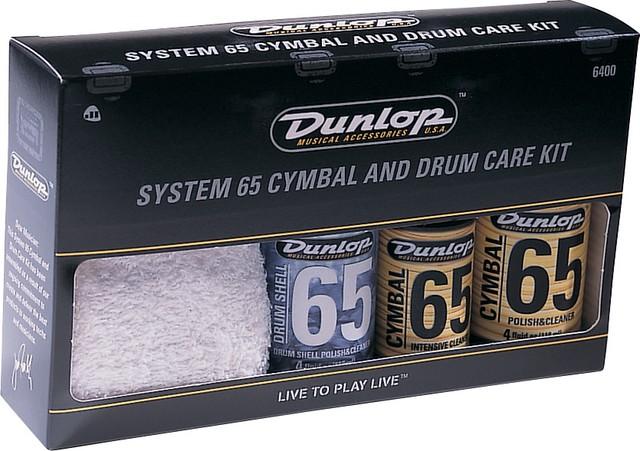 Jim Dunlop Drum & Cymbal Care Kit
