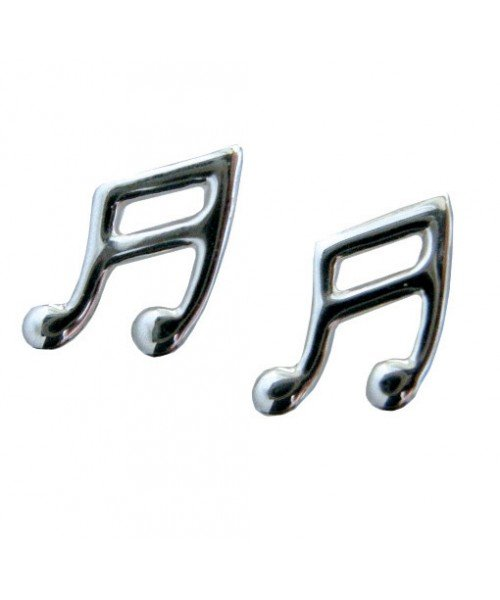 Sterling Silver Quavers Earrings