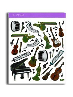 Stickers: Keyboards/Instruments