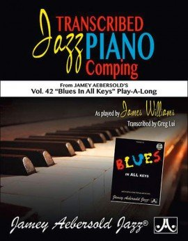 Transcribed Jazz Piano Comping Vol. 42