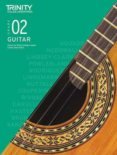 Trinity Guitar Exam Pieces 2020-2023 Grade 2
