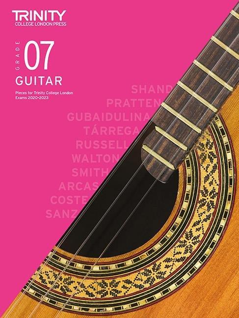 Trinity Guitar Exam Pieces 2020-2023 Grade 7