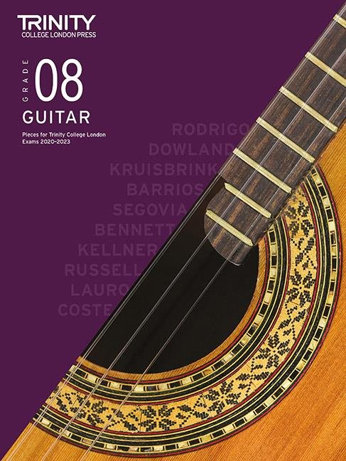 Trinity Guitar Exam Pieces 2020-2023 Grade 8
