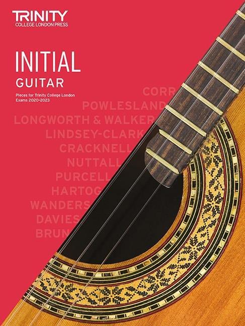 Trinity Guitar Exam Pieces 2020-2023 Initial Grade