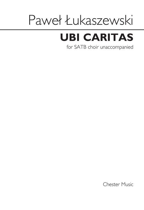 Ubi Caritas SATB choir unaccompanied