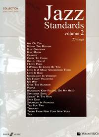 Jazz Standards Vol2 - 25 Of The Best Jazz Standards Songs