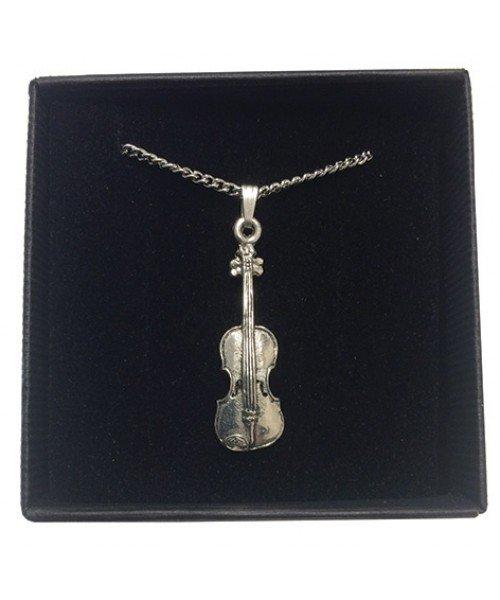 Violin Pewter Pendant