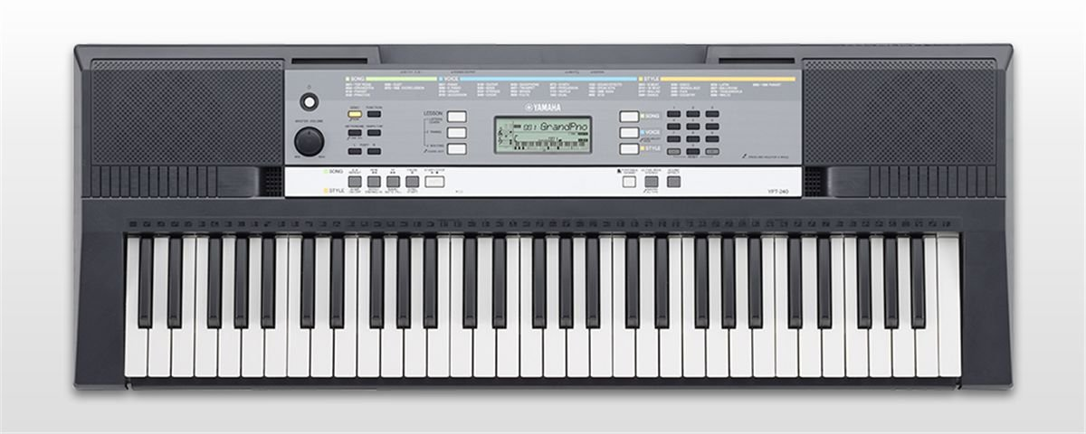 yamaha ypt 240 digital keyboard. Black Bedroom Furniture Sets. Home Design Ideas