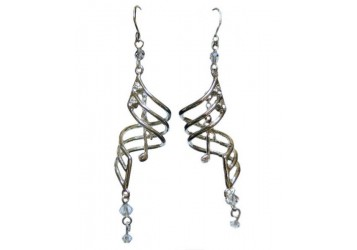 Music Note Drop Earrings (with box)