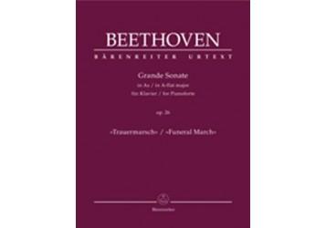 Piano Sonata Op. 26 in A-flat Major